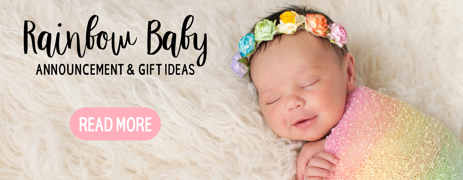 Rainbow Baby Announcement & Gift Ideas