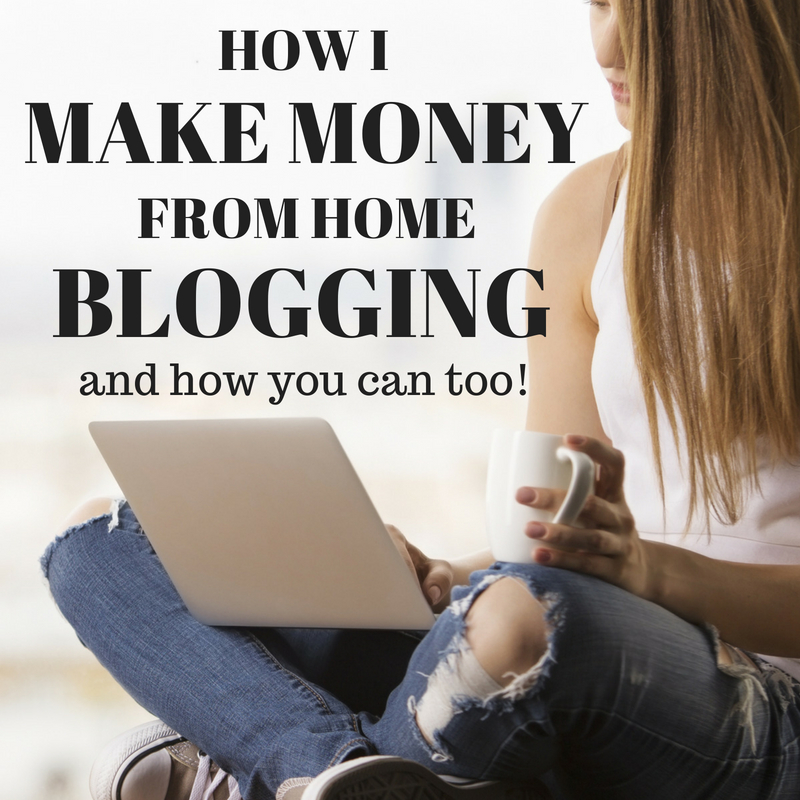 How I Make Money Online From Home Blogging About Stuff I Love And Know