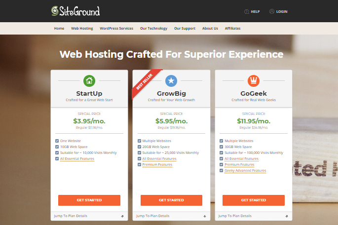 How To Choose Web Hosting Service And Install WordPress On SiteGround