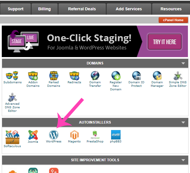 How To Install WordPress Blog With SiteGround Web Hosting