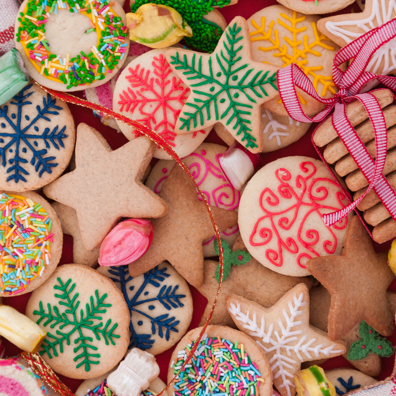 Christmas Cookie Exchange Party Invitations
