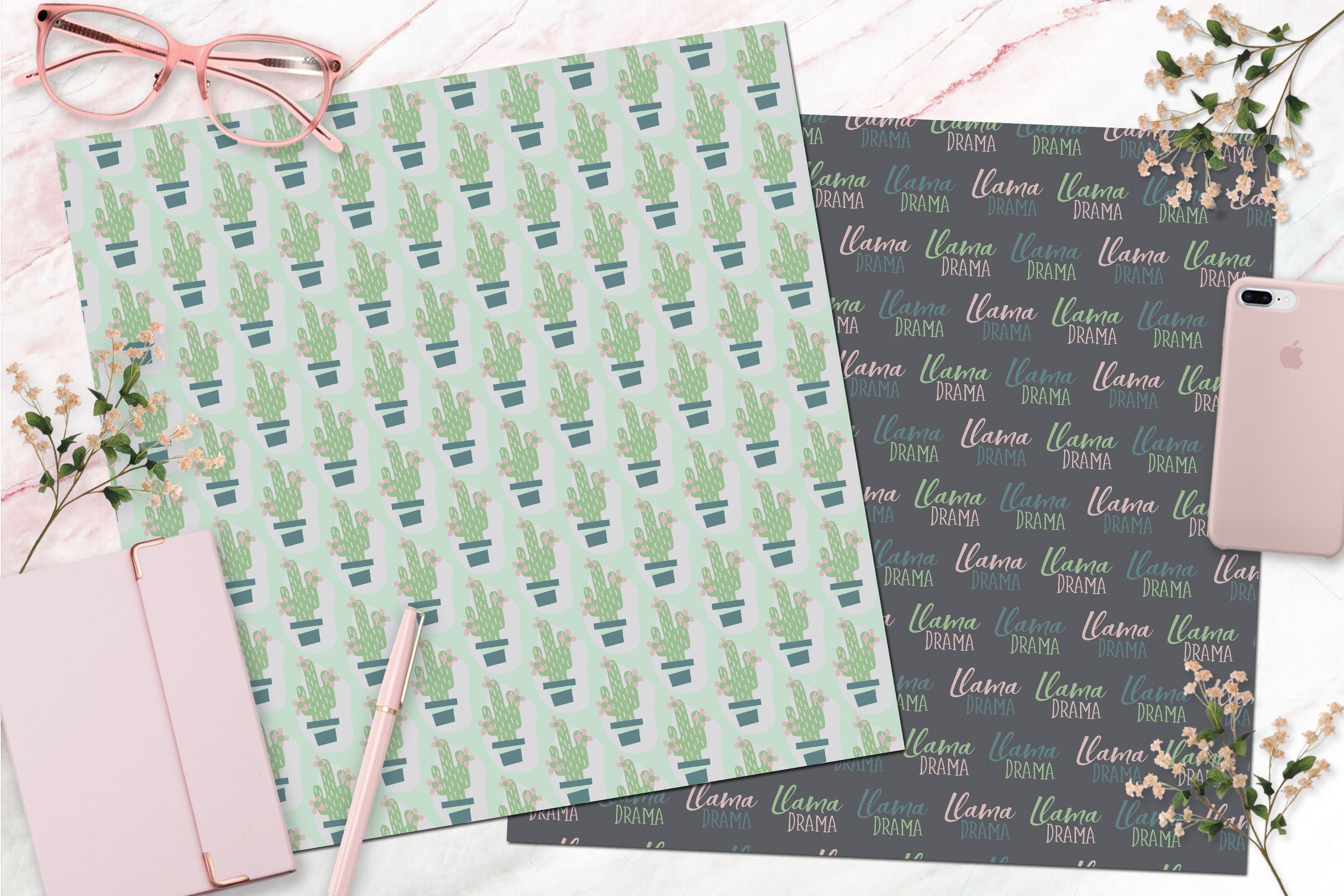 picture relating to Printable Design Paper identify Free of charge Electronic (And Printable) Llama Sbook Paper Glitter