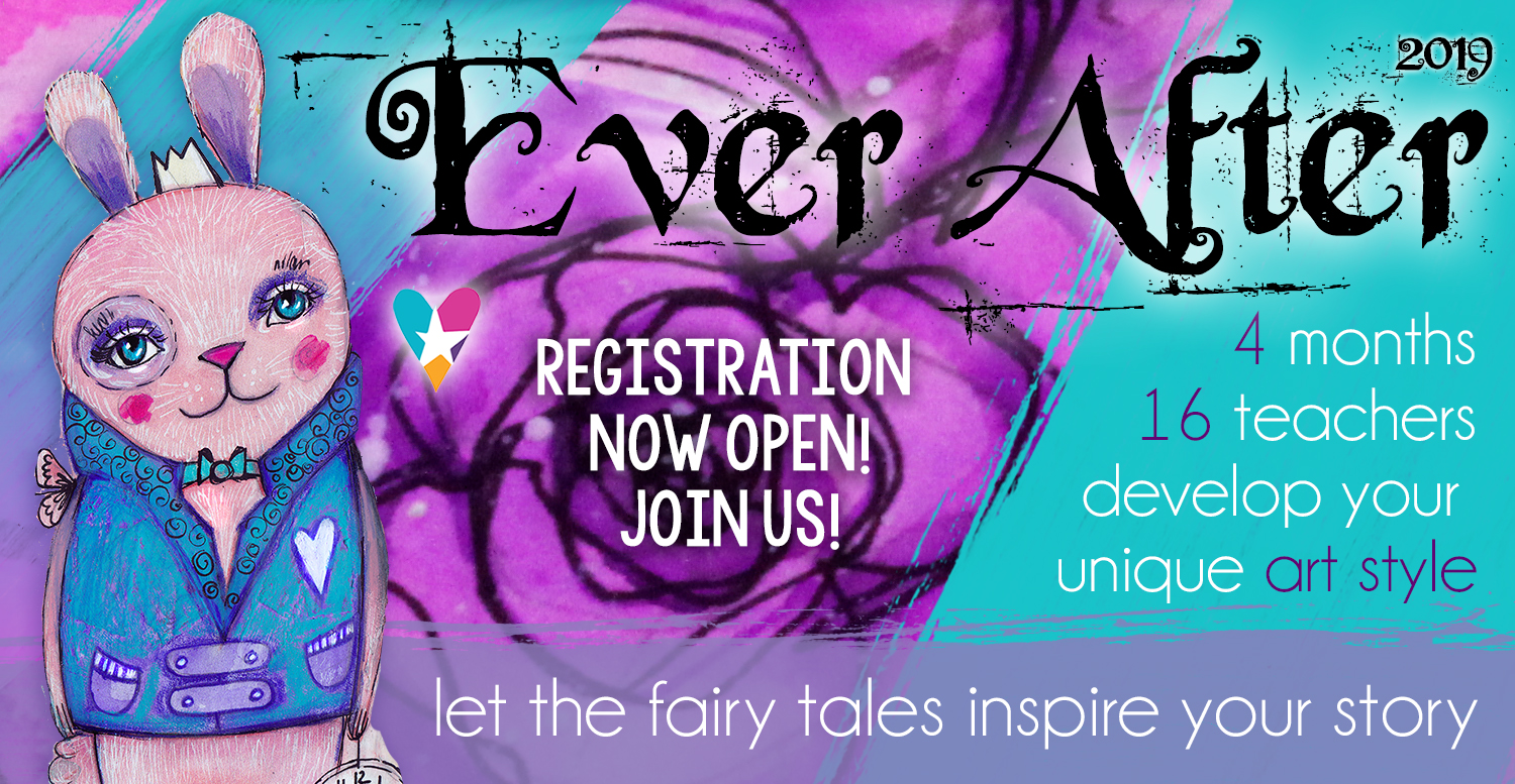 Develop Art Style: Ever After 2019 - Fairy Tales With Style Development Course